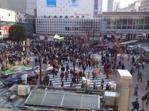 Shibuia cross