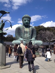 The Big Buddha in Kamakura